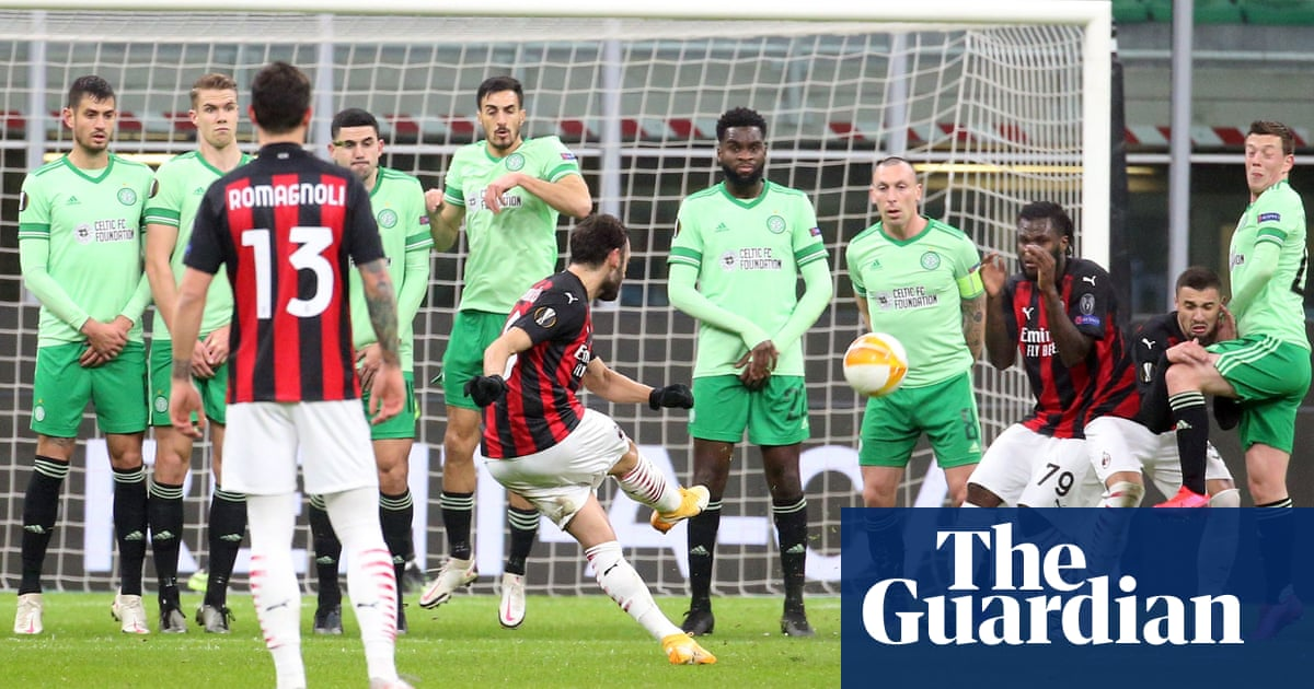 Celtic squander lead in Milan defeat to increase pressure on Neil Lennon