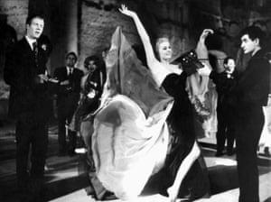 Anita Ekberg in La Dolce Vita.
