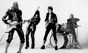 Ziggy Stardust and the Spiders from Mars.