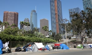 Almost 59,000 people across Los Angeles county are homeless.