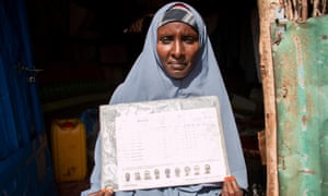 Hubi Abdullahi Aden, 44, returned to Kismayo in March. She had fled Somalia's civil war in 1991 and raised seven children in Dadaab refugee camp.