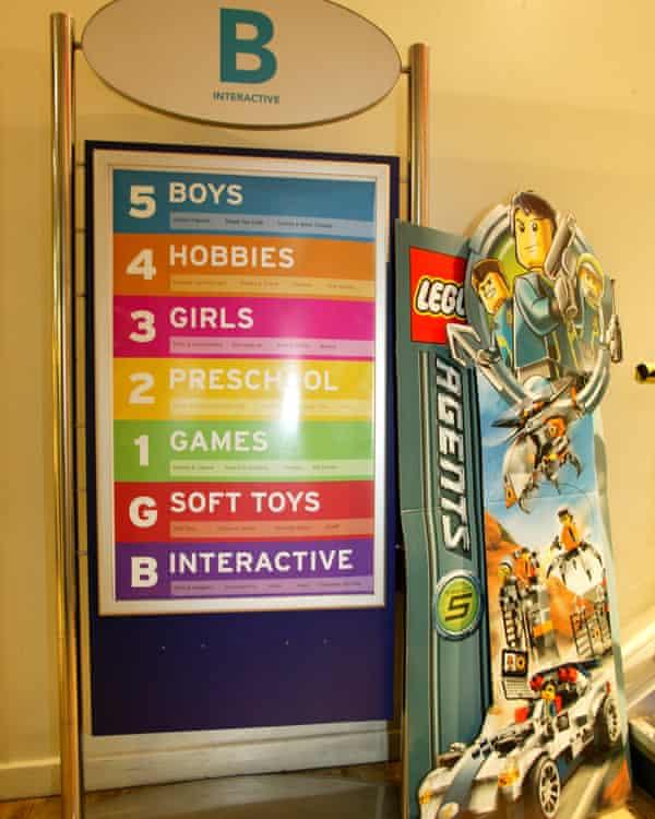 Hamleys toy shop in London, 2015.