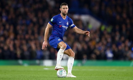Chelsea to let Gary Cahill leave on loan in January as a reward for his service