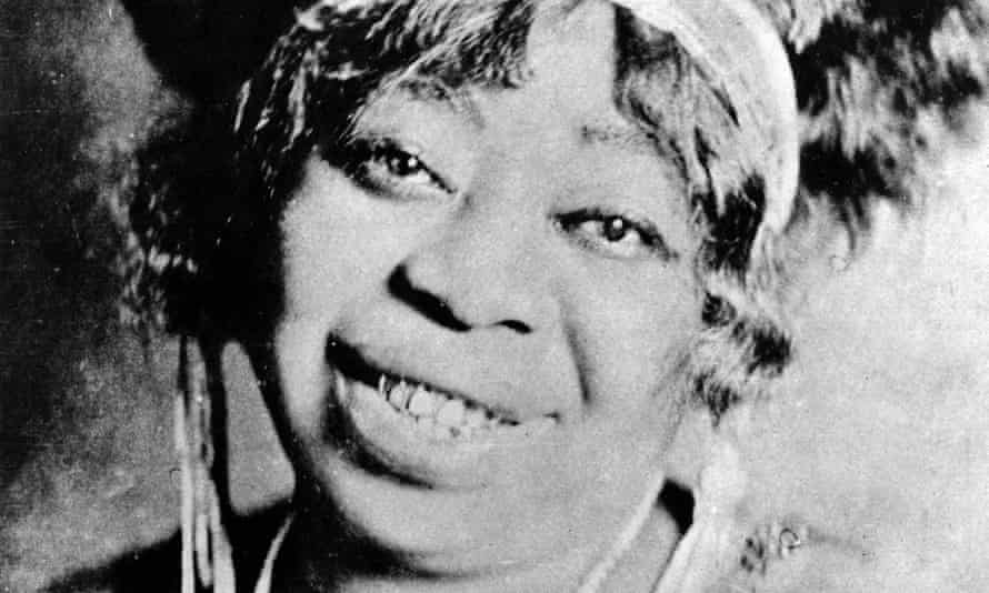 'I don't care if you were black, white, green or yellow, she owned the stage and you were mesmerised by her performance' ... Ma Rainey