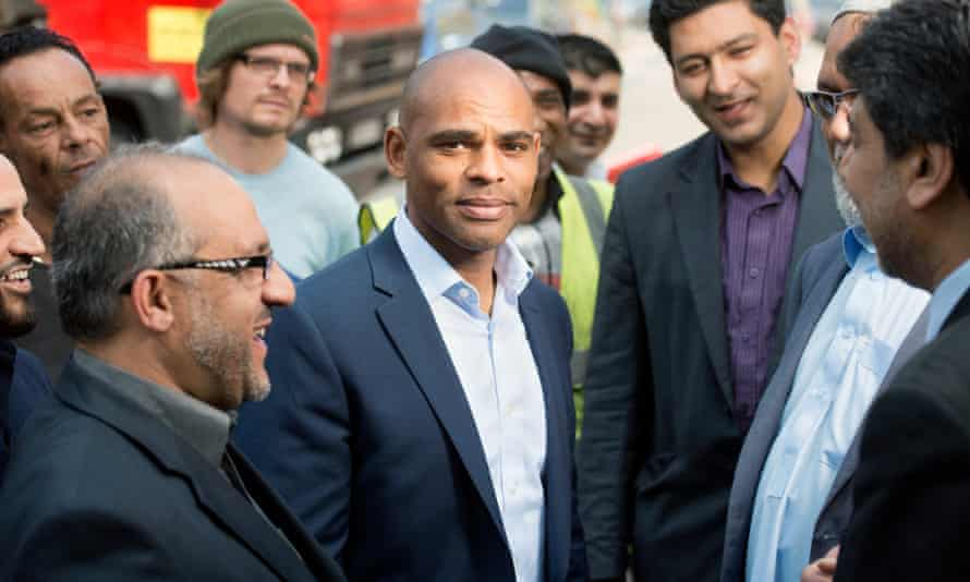 Marvin Rees: 'My election says something about the journey Bristol has been on.'