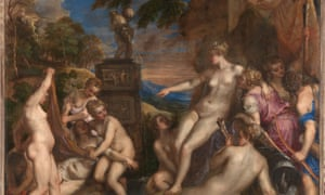 Titian's Diana and Callisto, which will be one of the paintings on display.