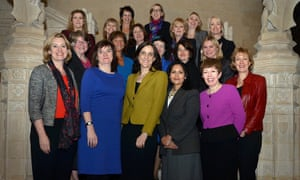 London, UK Government Ministers & whips gathered in celebration of #IWD16 - tweeted by Nick Morgan who is Secretary of State for Education and Minister for Women and Equalities