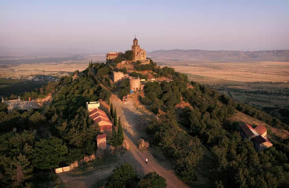 The Shavnabada monastery near Tbilisi