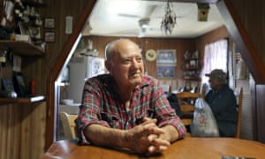 Wenceslaus Billiot, father of deputy chief Boyo Billiot. The proud world war two veteran and tribal elder may be forced to leave the home he has known all his life.