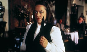 Kathy Bates as Annie Wilkes in the 1990 film adaptation Misery.