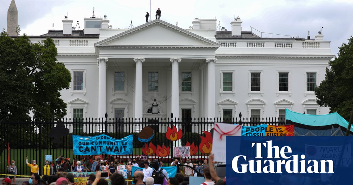 'This is our last chance': Biden urged to act as climate agenda hangs by a thread