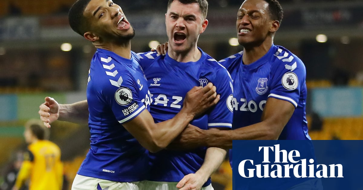 Keanes fine header keeps Evertons top-four push on track against Wolves