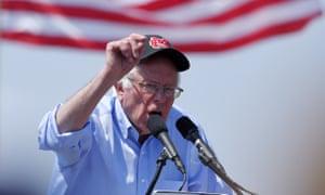Democratic presidential candidate Sen. Bernie Sanders