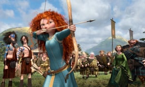 Merida from the film Brave.