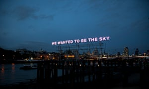 How do you judge quality? … Tim Etchells' installation We Wanted to be the Sky.