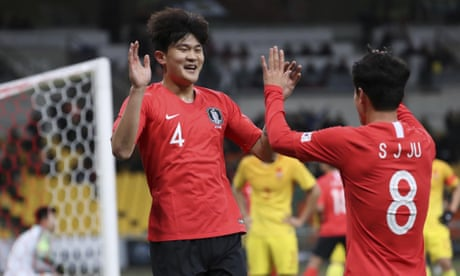 Everton among clubs chasing 'Monster' South Korea defender Kim Min-jae