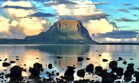 le Morne Mountain in Mauritius
