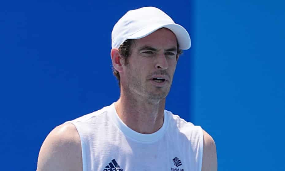 Andy Murray will continue to play in the doubles at the Tokyo Olympics.
