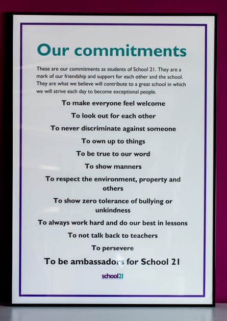 List of commitments