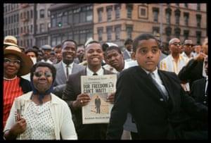 Untitled, Harlem, New York, 1963 by Gordon Parks.