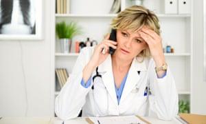 female doctor in medical office