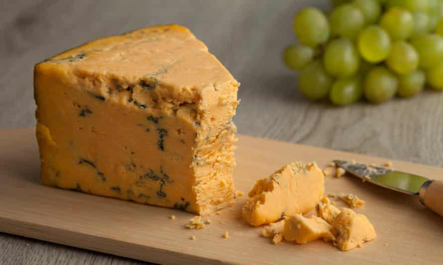 Say cheese … to a piece of Shropshire blue.
