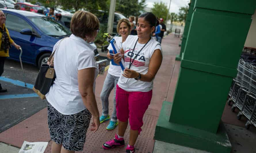 In addition to door-knocking and pavement-pounding in states like Colorado and Nevada, staff and volunteers are holding salsa classes and Get Out the Tacos and Vote drives