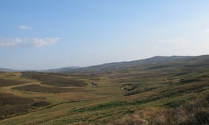 Cefn Garw can just be seen on the end of the ridge below the forestry on the right-hand skyline