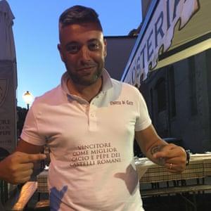 Marco Liberti, cacio e pepe champion