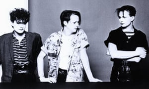 Cabaret Voltaire (l-r) Chris Watson, Richard H Kirk and Stephen Mallinder