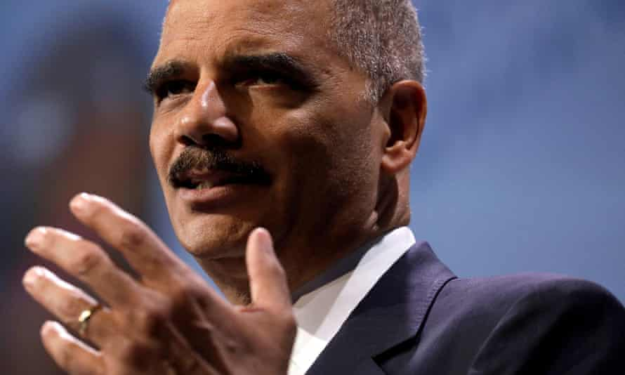 The former US attorney general Eric Holder said: 'The reality is that too many in the Republican Pparty have grown comfortable manipulating our political system for partisan advantage.'