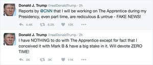 Trump's tweets.