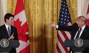 Trump: 'Canada, what they've done to our dairy farmworkers is a disgrace.'