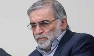 O proeminente cientista iraniano Mohsen Fakhrizadeh, que foi assassinado na sexta-feira.