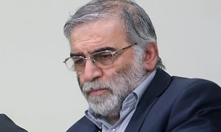 Prominent Iranian scientist Mohsen Fakhrizadeh, who was assassinated on Friday.