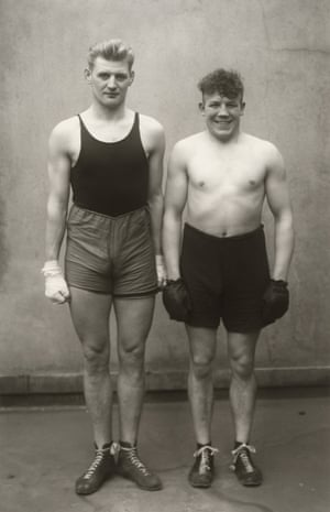 Boxers, 1929Over the course of a career spanning six decades Sander created a nuanced sociological portrait of his homeland, its people, its landscapes and its cities.