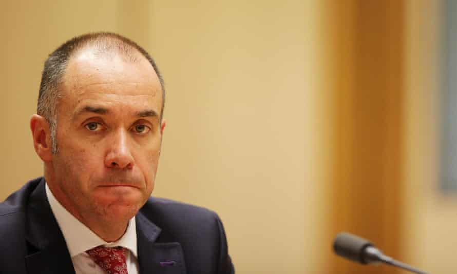 NAB boss Andrew Thorburn faces senators on Tuesday.