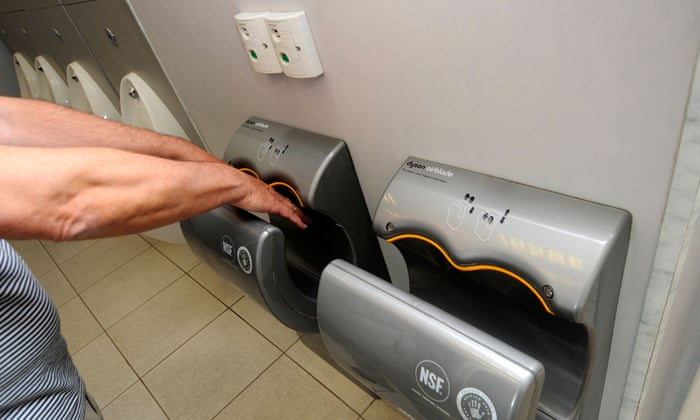 Dyson Airblades Or Paper Towels Which Is More Hygienic News - Bathroom hand dryer germs