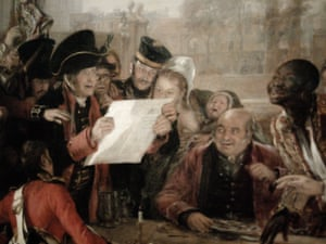 Detail from Chelsea Pensioners Reading the Waterloo Despatch, by Sir David Wilkie RA.