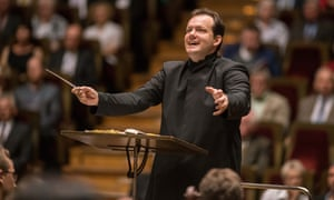 Fleet and floating … conductor Andris Nelsons.