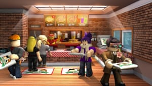 Work at a Pizza Place by Dued1 – teams of players fill orders and earn credits to buy home furnishings.