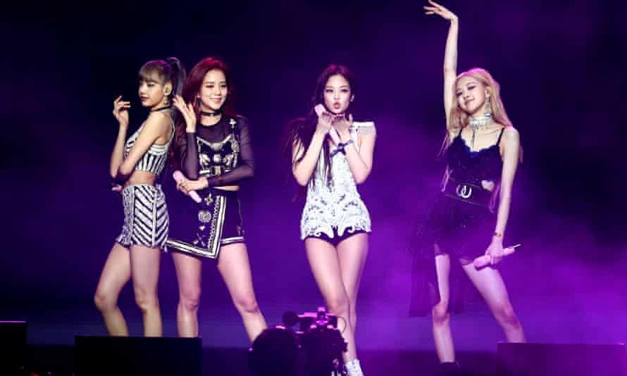 Korean pop stars Blackpink play at this month's Coachella festival.
