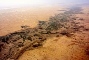 The Wadi El Ku river in North Darfur
