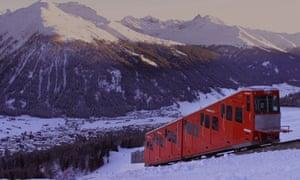Davos train.