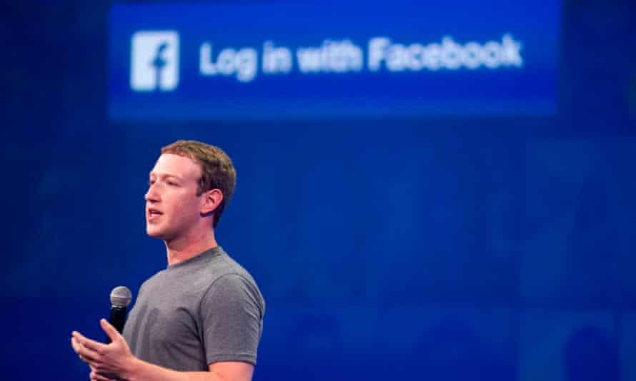 Mark Zuckerberg speaks at the F8 summit in San Francisco, California, in 2015.
