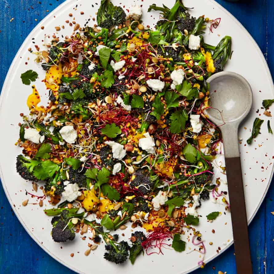 The Weekend Cook Thomasina Miers Purple Sprouting Broccoli Recipes Main Course The Guardian