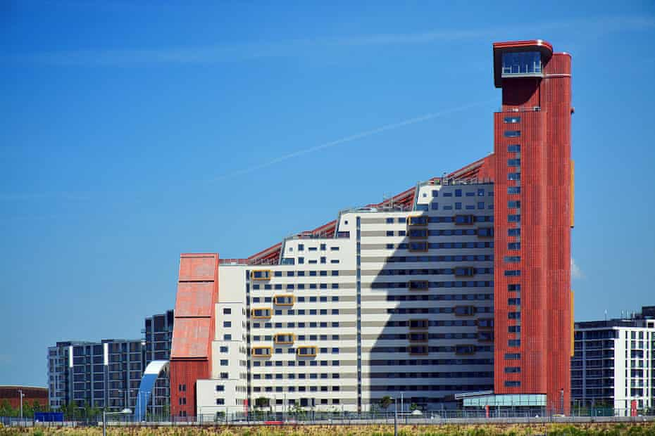 UNITE's student housing close to the Olympic Park.