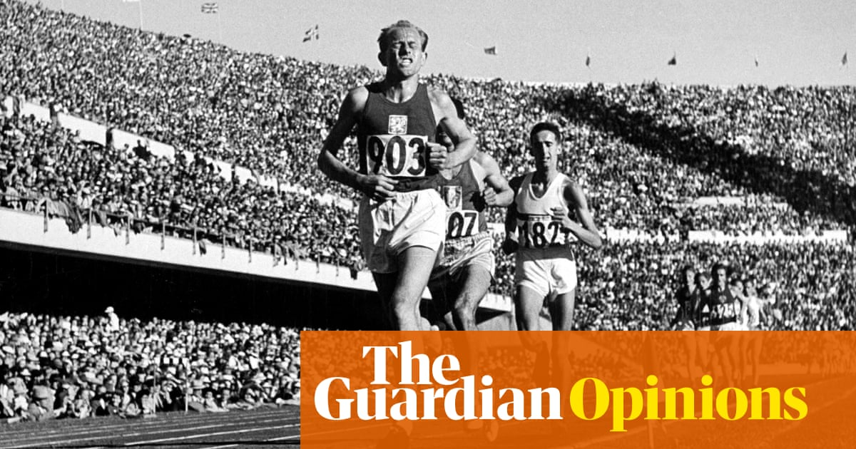 Olympians should follow the Zatopek formula for peaking when it matters most