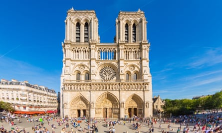 'It's time someone straightened out the narrative' … Notre-Dame cathedral in Paris, which is explored in Stealing from the Saracens.