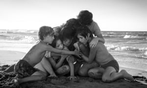 A scene from Roma by Alfonso Cuarón.